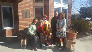 Riviera Finance Volunteers at Ronald McDonald House