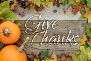 Riviera Finance is Thankful