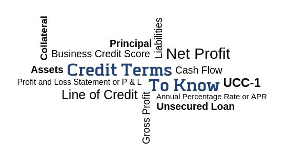 Financial and Credit terms you should know